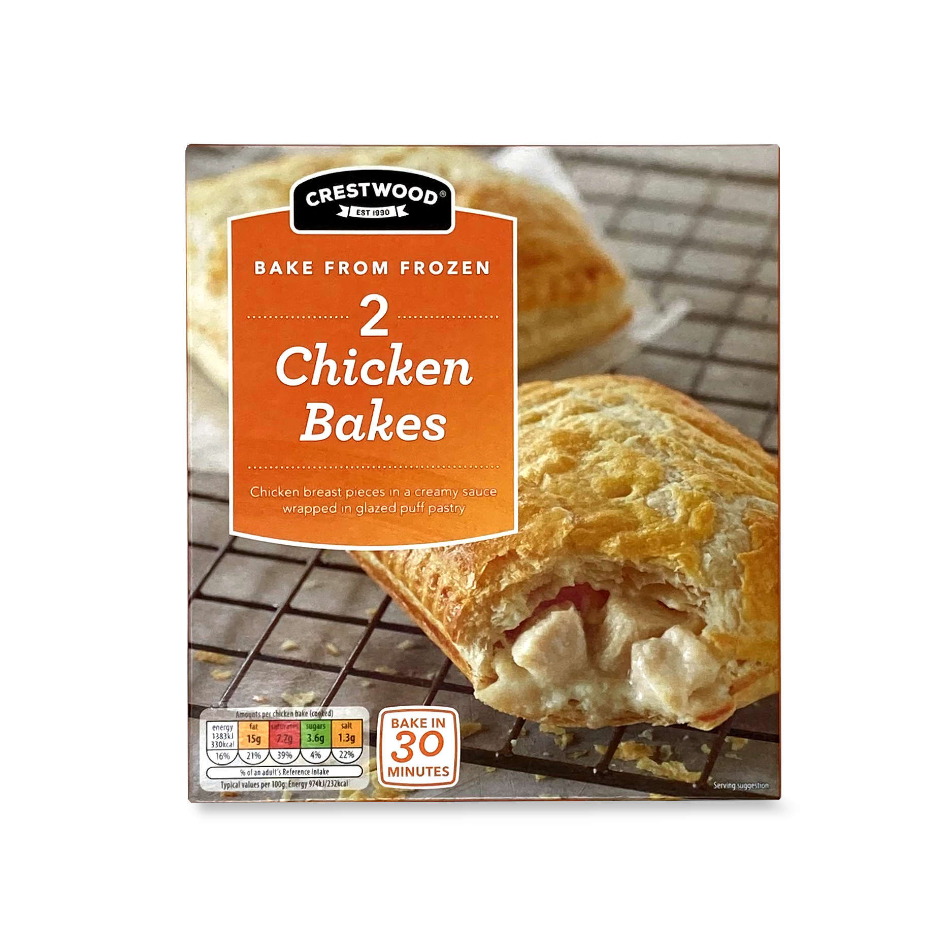 Chicken Bakes 153g Crestwood Aldi Ie