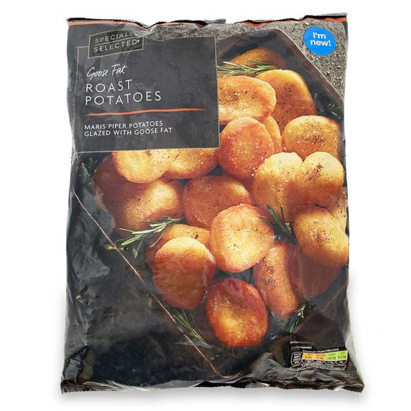 Specially Selected Goose Fat Roast Potatoes 1kg