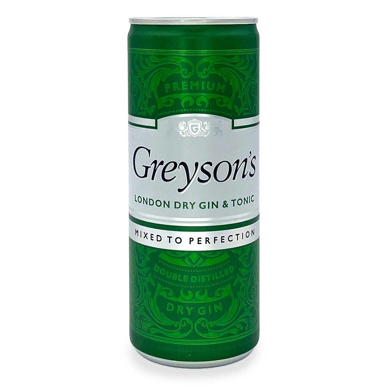 Greyson's London Dry Gin & Tonic 250ml