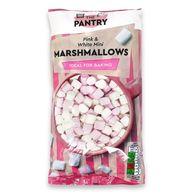 The Pantry Pink & White Mini Marshmallows 180g