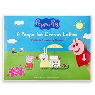 Peppa Pig Strawberry & Vanilla Ice Cream Lollies (192g) 6 X 60ml