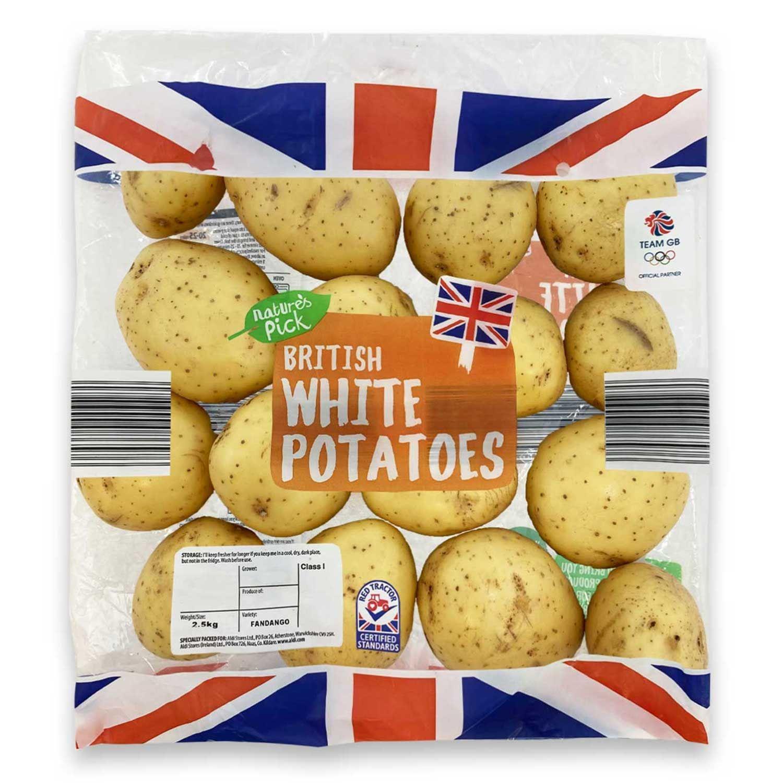Nature's Pick Potatoes 2.5kg