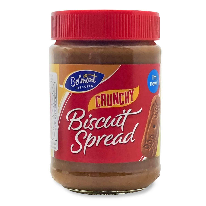 Belmont Biscuits Crunchy Biscuit Spread 400g