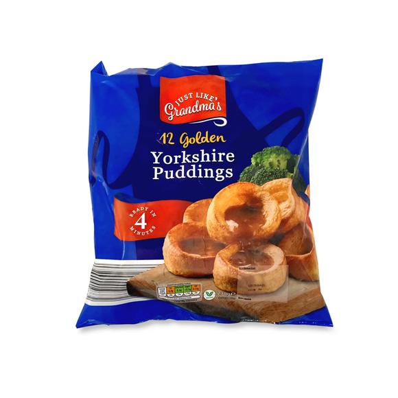 Just Like Grandma's 12 Golden Yorkshire Puddings 230g