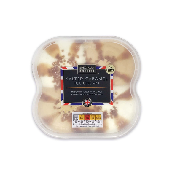 Specially Selected Salted Caramel British Ice Cream 1 Litre