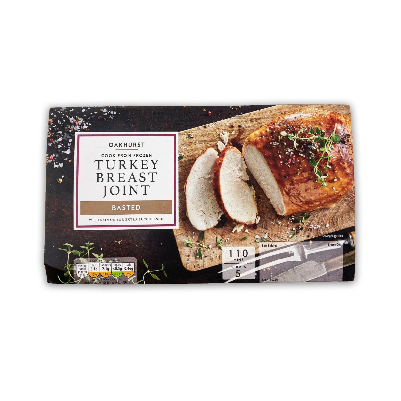 Oakhurst Cook From Frozen Turkey Breast Joint 800g Aldi