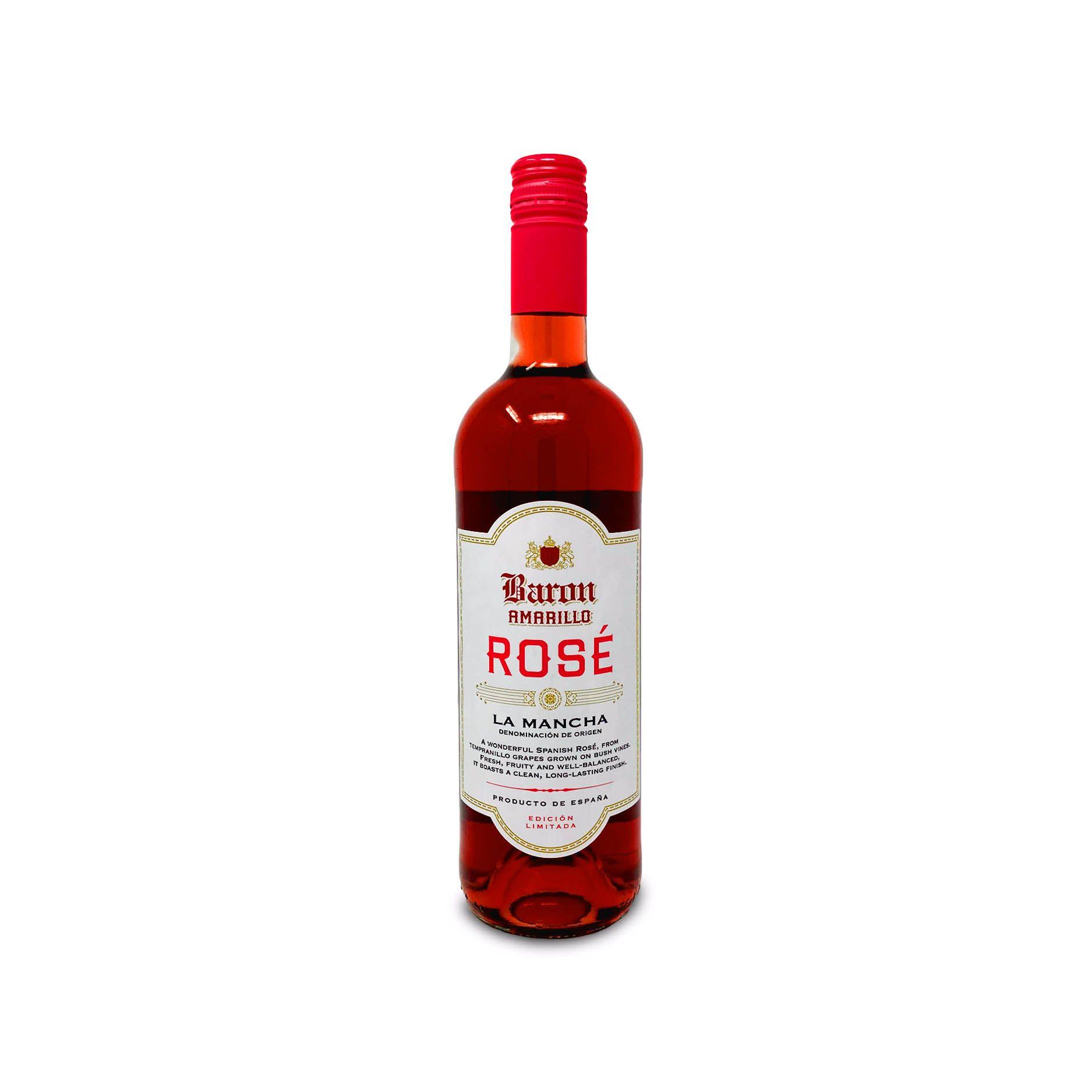Baron Amarillo La Mancha Rose 75cl Aldi